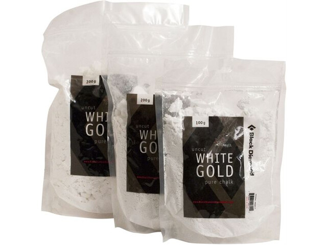 Black Diamond Solid White Gold Loose Chalk 100g